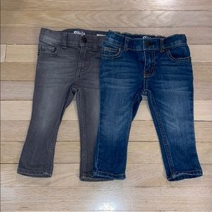 Osh Kosh Toddler Boy Skinny Denim Bundle of 2